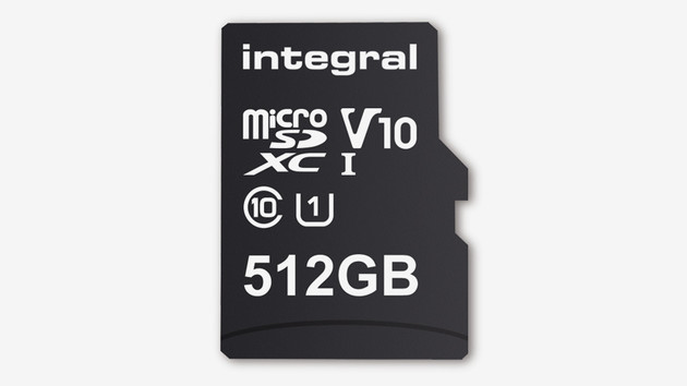 Integral Memory: microSD-Karte mit 512 GB setzt neuen Rekord