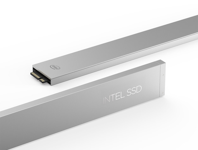 Intel DC P4500 im Ruler-Format