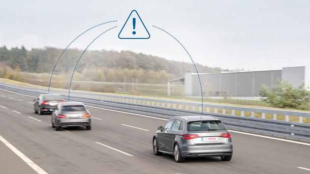 Bosch, Vodafone und Huawei: 5G-V2X für Geschwindigkeits- und Abstandsregelung
