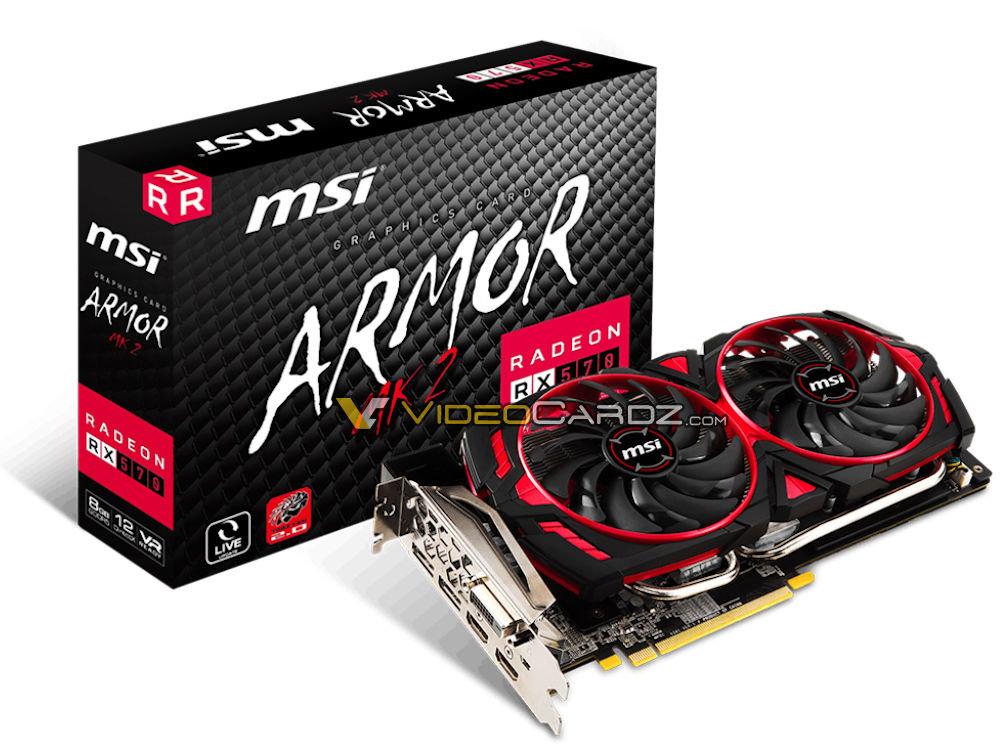 MSI Radeon RX 570 Armor