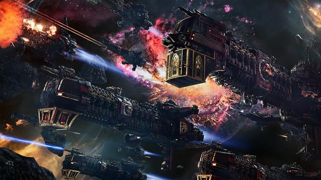 Battlefleet Gothic: Armada 2 - Weltraumschlachten mit 12 Fraktionen (Necrons, Orks, Tyraniden) angekündigt