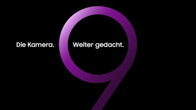 Samsung: Galaxy S9 kommt mit neuer Kamera am 25.Februar