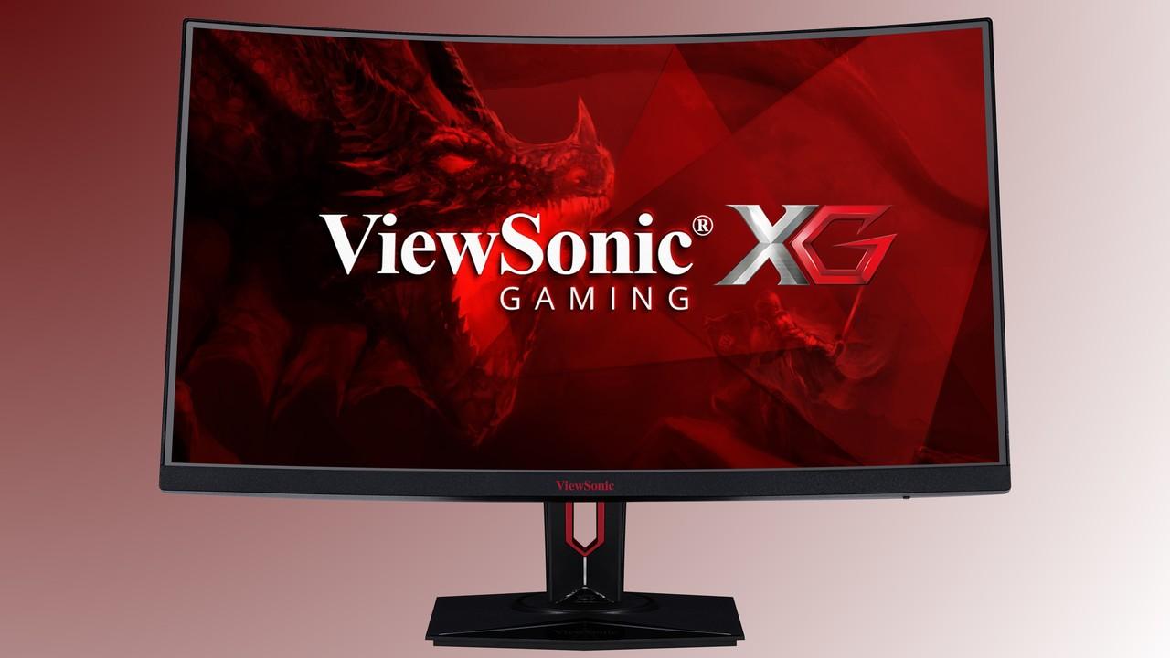 """ViewSonic XG3240C: 32""""-Monitor mit WQHD, 144 Hz, DP 1.4 und HDR10 für Spieler"""