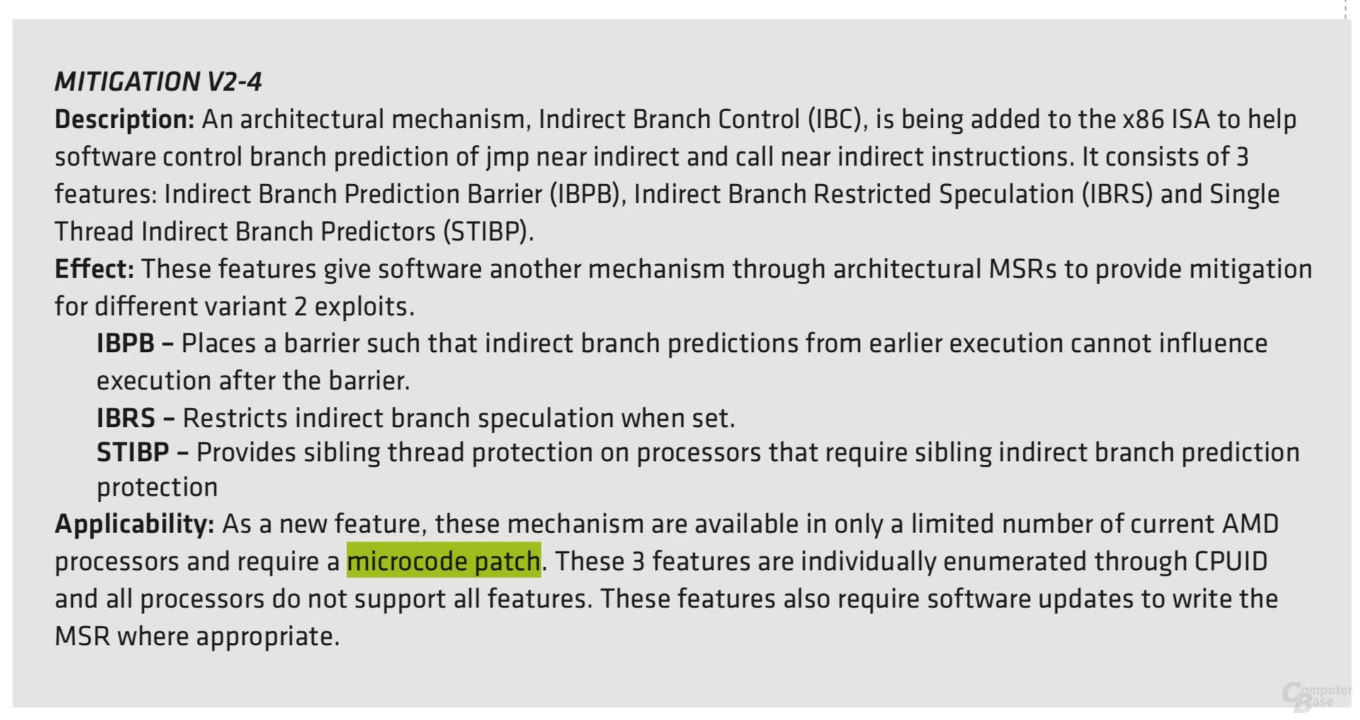 Bleibt es bei der Umsetzung in Windows, braucht auch AMD Updates