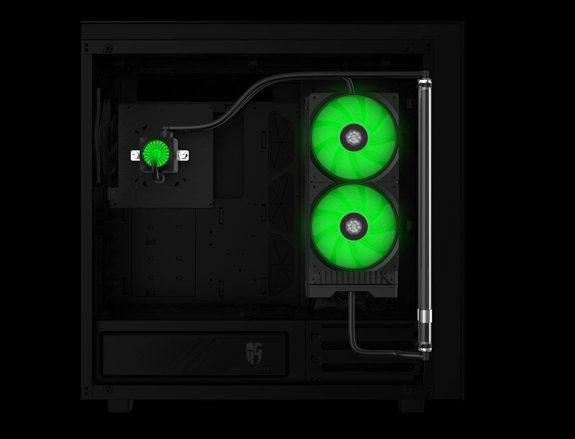 Deepcool New Ark 90 – Kühlkreislauf