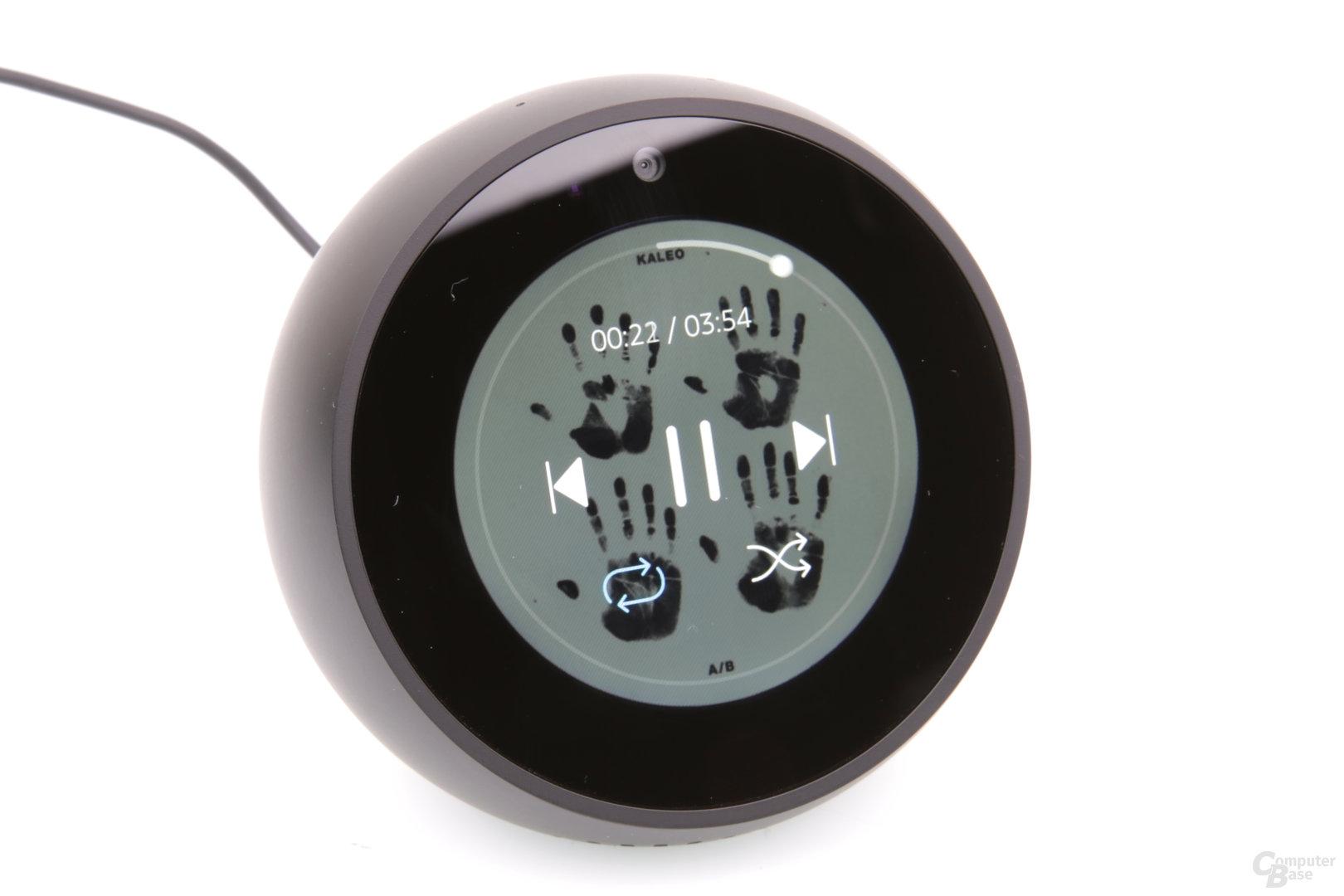 Amazon Echo Spot: Musikwiedergabe mit Spotify