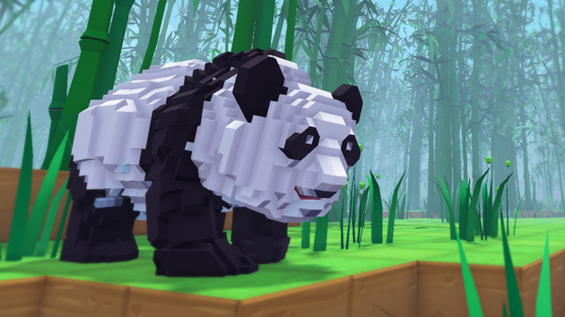 PixArk: Ark: Survival Evolved folgt Minecraft mit Voxel-Grafik