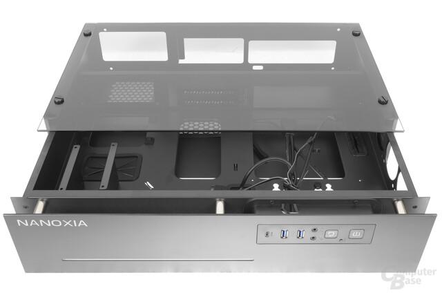 Nanoxia Project S Mini – Gehäusekorpus ausgefahren