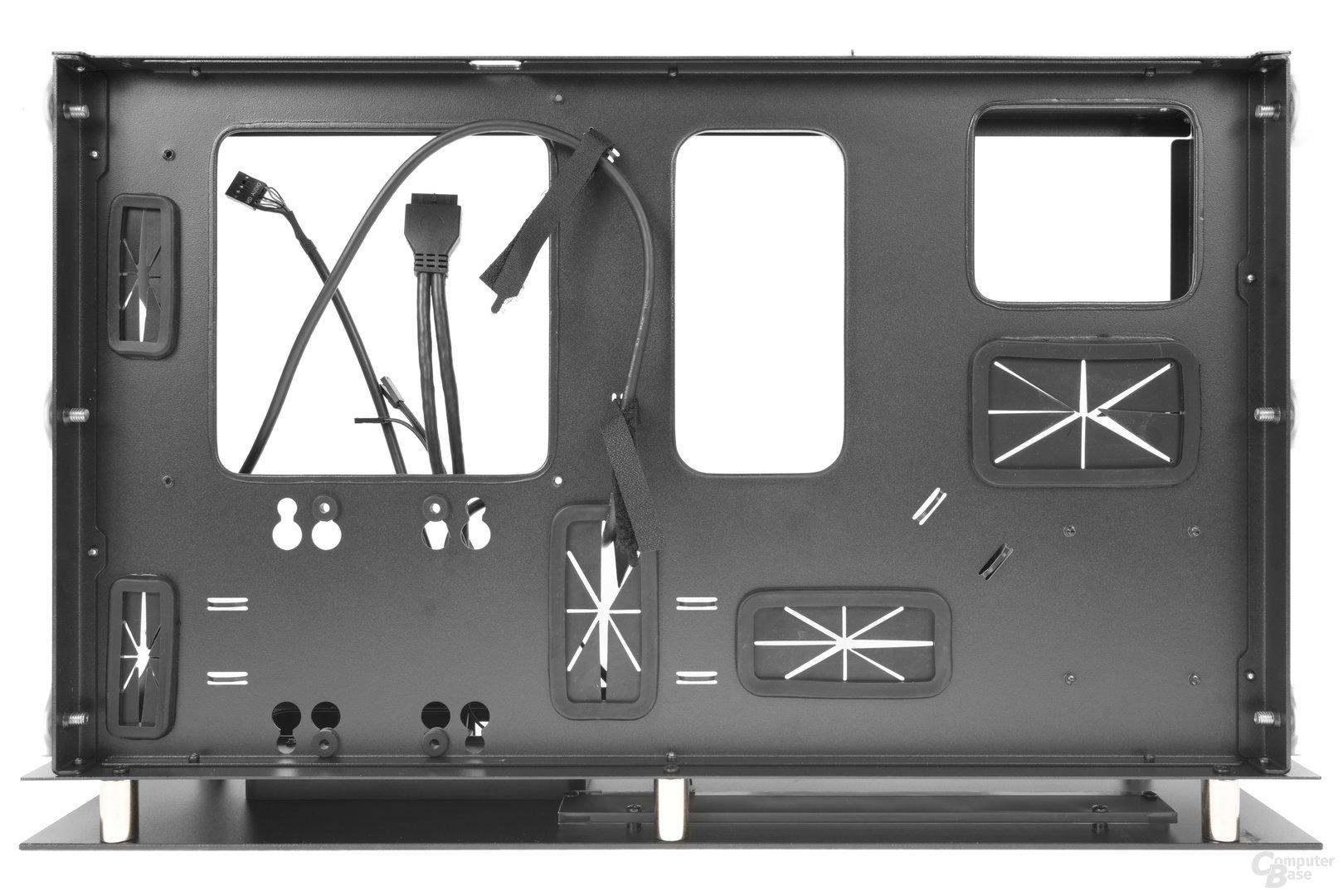 Nanoxia Project S Mini – Innenraumansicht Rückseite
