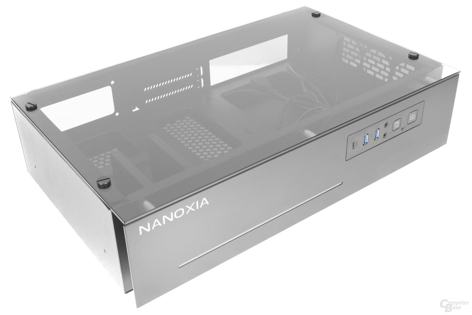 Nanoxia Project S Mini – Seitliche Obersicht