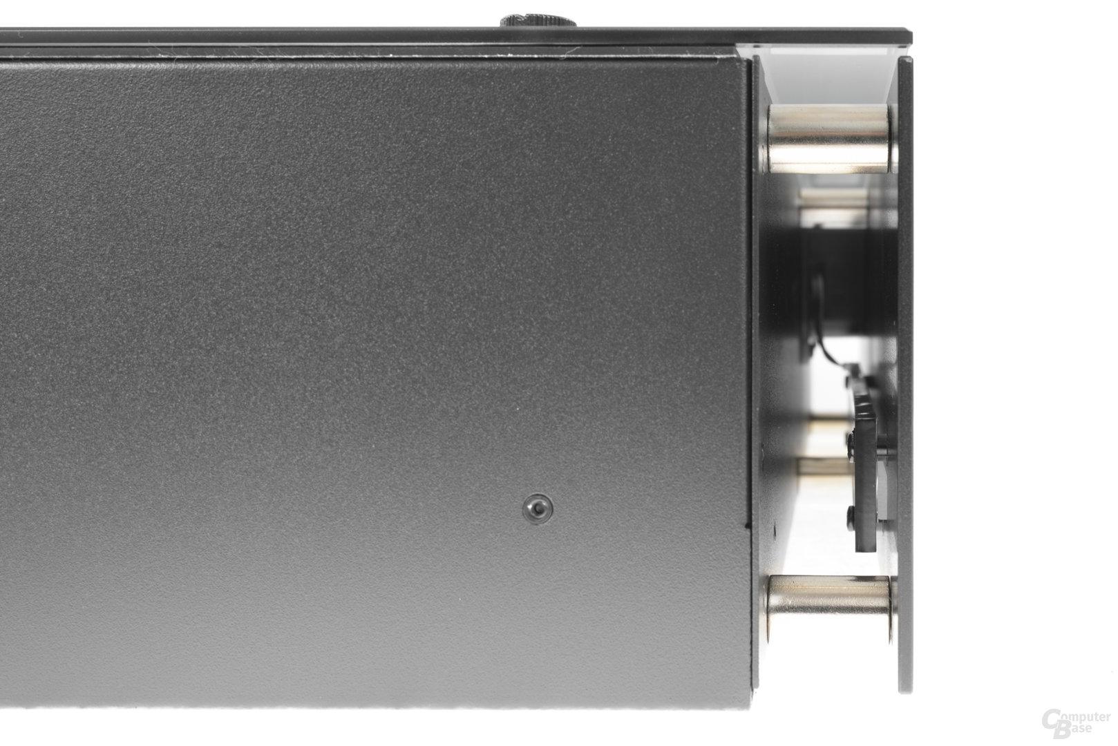 Nanoxia Project S Mini – Der Raum zwischen Aluminiumfront und Stahlkorpus