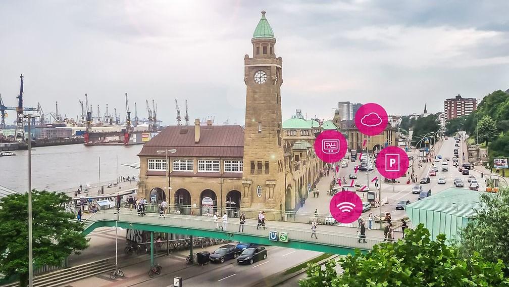 NarrowBand IoT: Deutsche Telekom meldet freie Parkplätze in Hamburg
