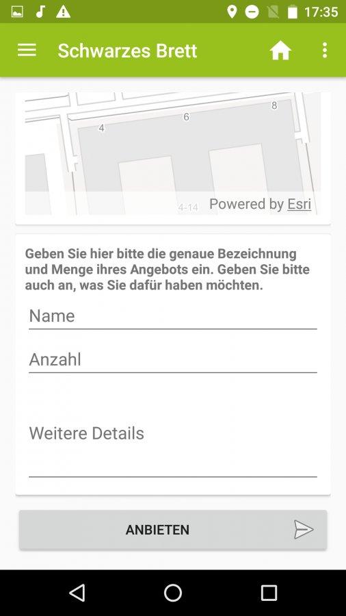 Dienste der Smarter-App