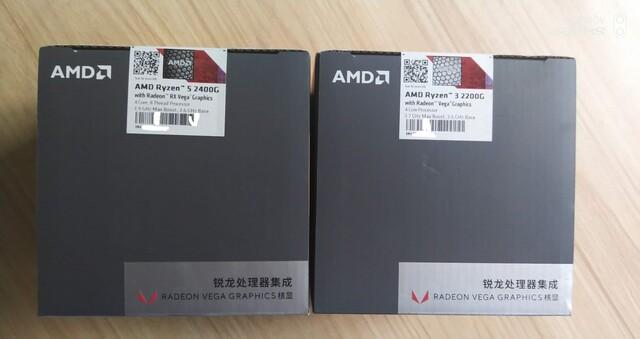 AMD Ryzen 3 2200G und Ryzen 5 2400G