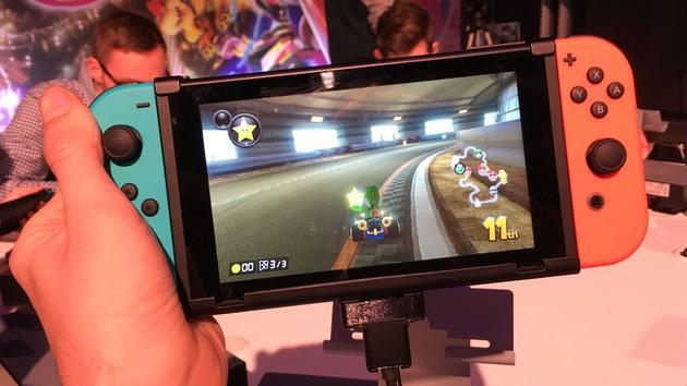 Switch-Konsole bringt Nintendo zurück in die Erfolgsspur