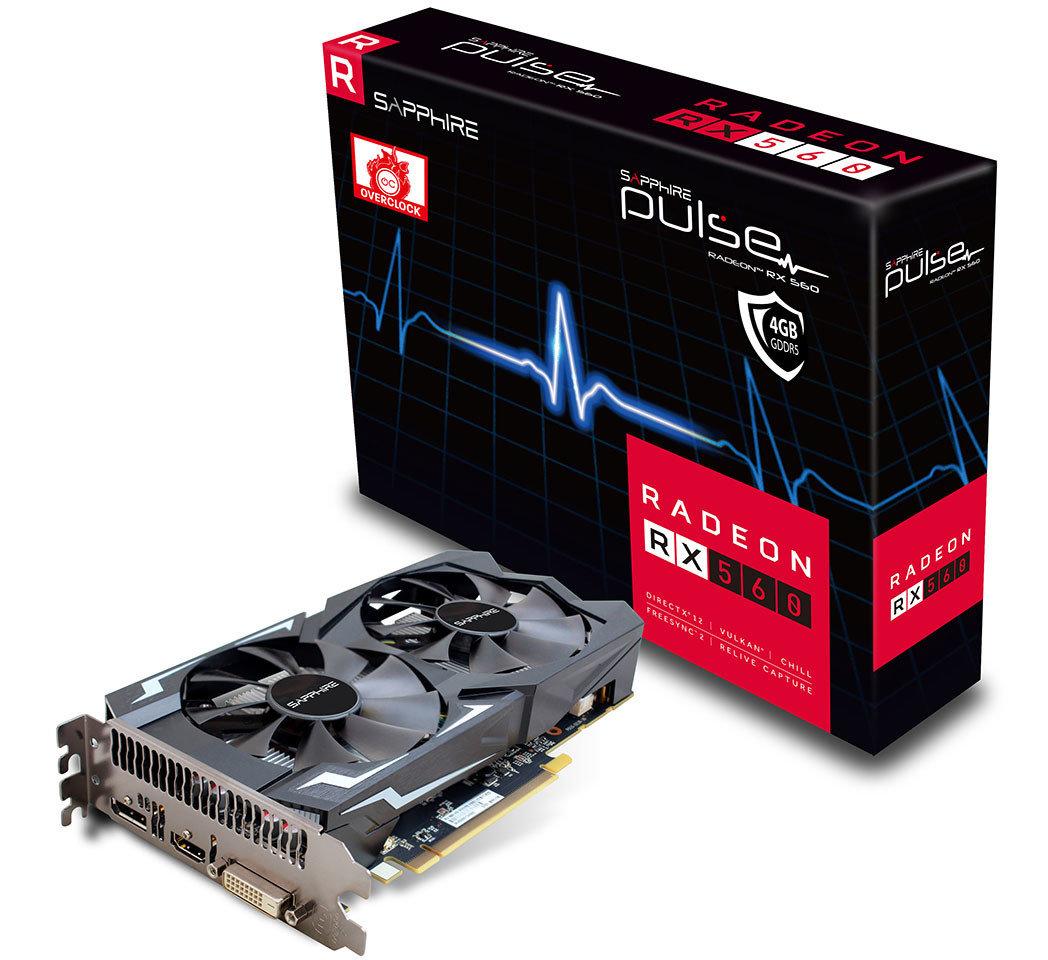 Sapphire Radeon RX 560 Pulse Lite