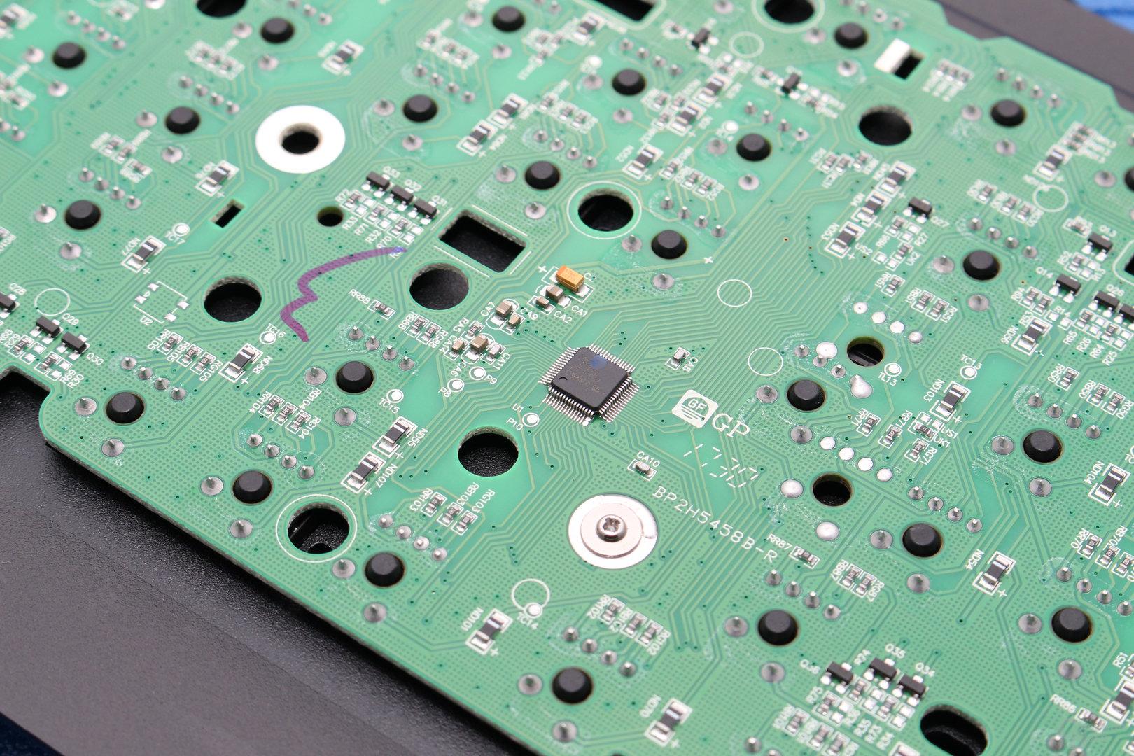 Der Mikrocontroller stammt von Vision (VS11K09A)