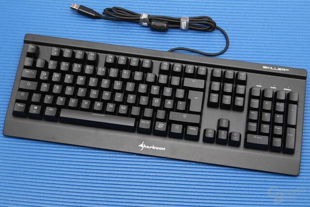Preis und RGB-Beleuchtung sind Verkaufsargumente der Skiller SGK3