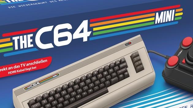 THEC64 Mini: C64-Nachbau mit 64 Spielen kommt Ende März