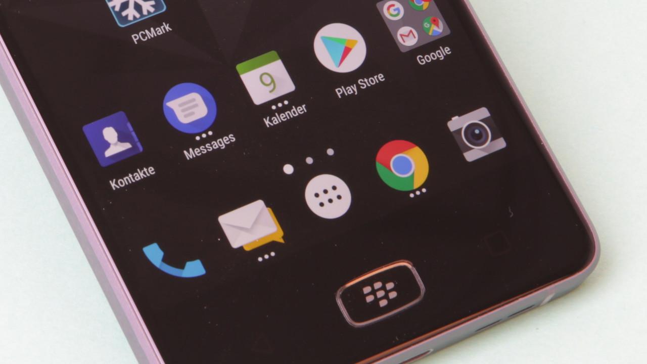 BlackBerry Motion im Test: Marathon-Smartphone