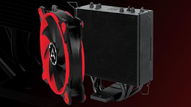 Freezer 33 eSports: Arctic verbessert Kühlung mit schwarzer Farbe