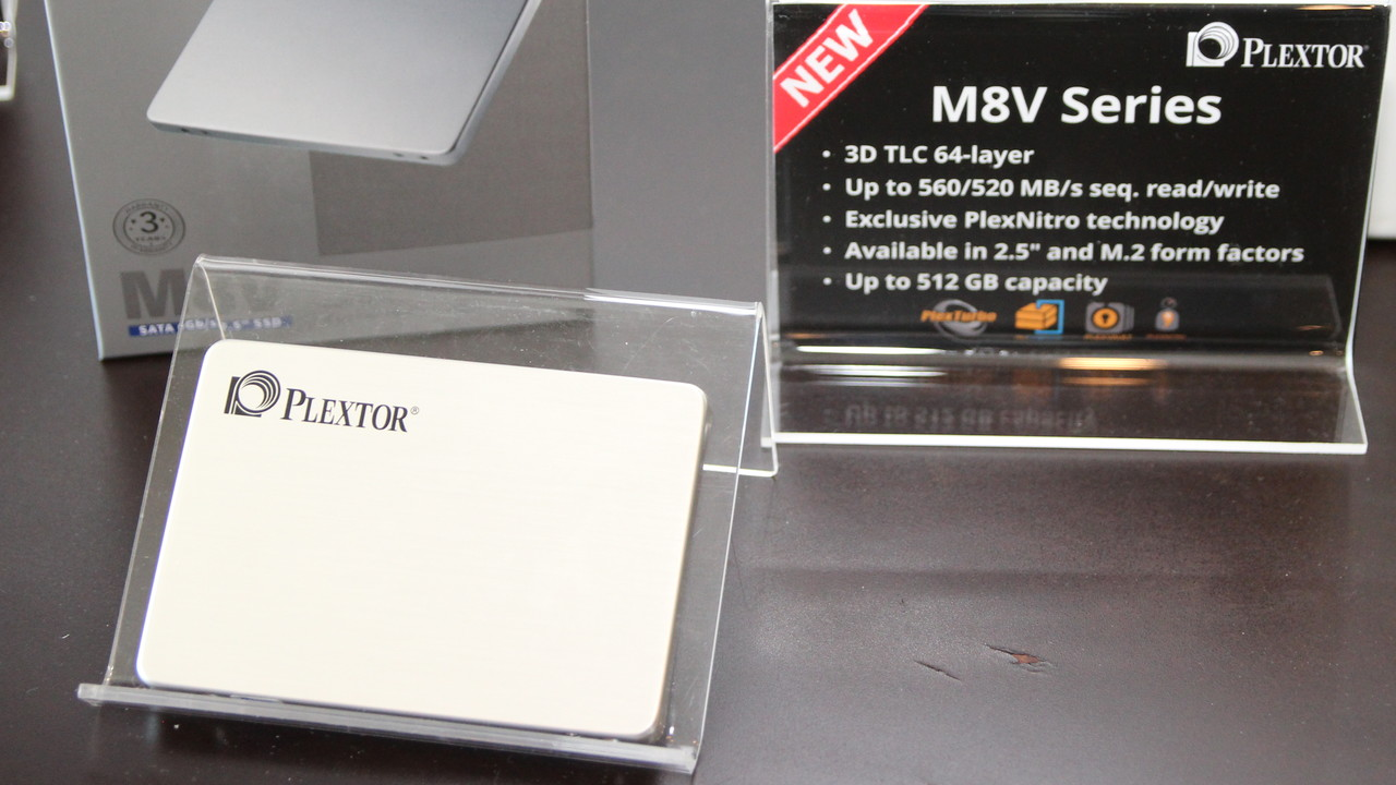 Plextor M8V: Mainstream-SSD mit SATA und SLC-Turbo in zwei Formaten