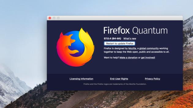 Sicherheitslücke im Firefox: BSI rät zum raschen Update auf Version 58.0.1