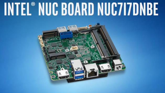 NUC mit Kaby Lake Refresh: Leistungssprung dank Acht-Thread-CPU bei 15Watt