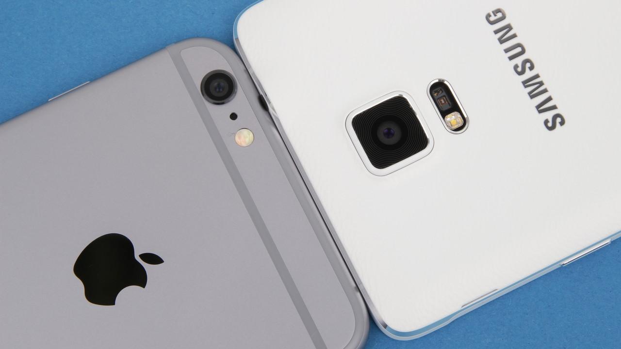 Smartphones 2017: Apple und Samsung im Kampf um den ersten Platz