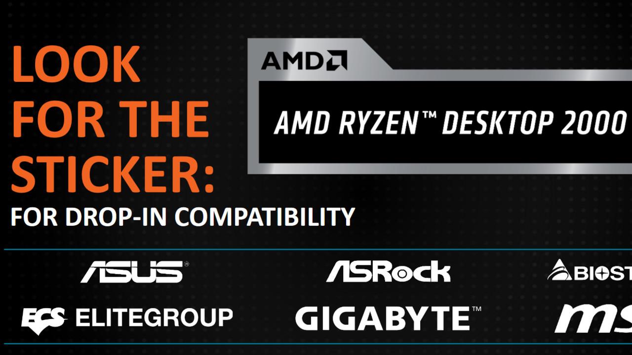 """AMD Ryzen 2000: Erste Mainboards sind """"AMD Ryzen Desktop 2000 Ready"""""""