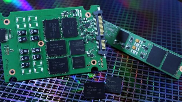 Enterprise-SSDs: SK Hynix greift mit 72‑Layer‑3D‑NAND an