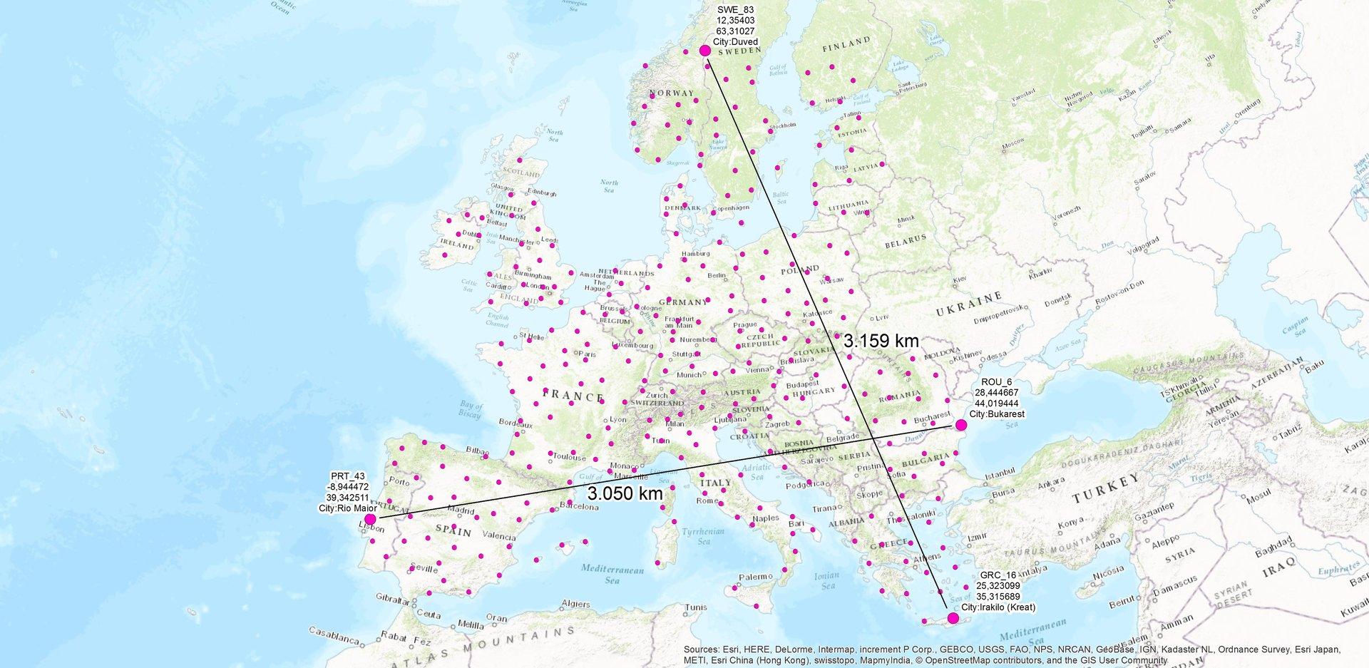 LTE-Bodennetz des EAN