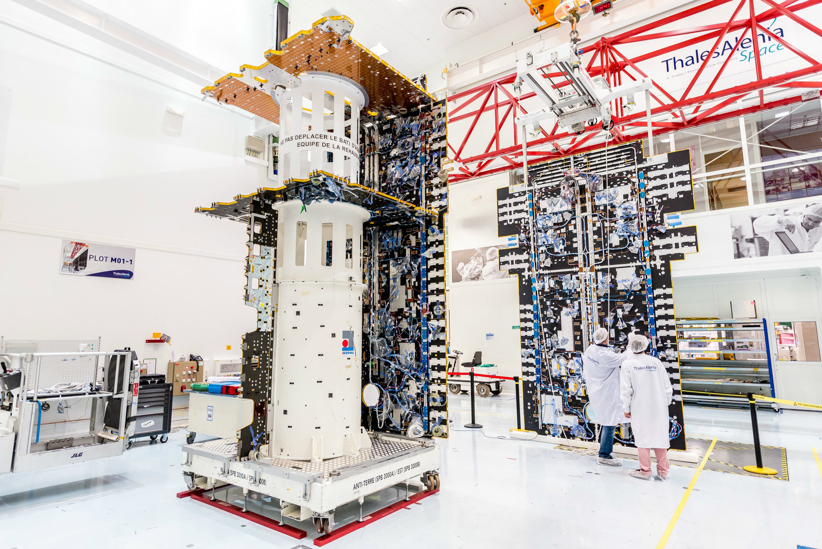 S-Band-Satellit für das EAN