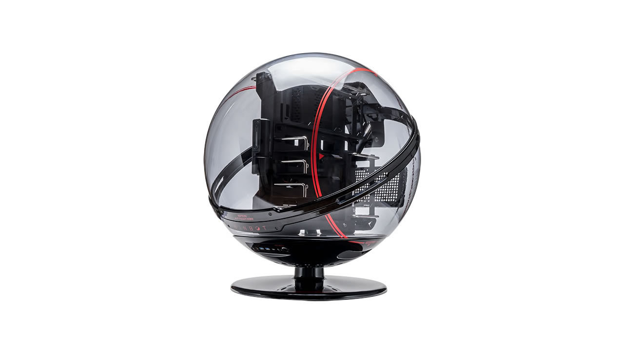 Winbot als interaktives Kugelgehäuse