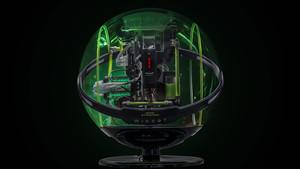 In Win Winbot: Transparentes Kugelgehäuse mit Sensorik für 4.000 Euro
