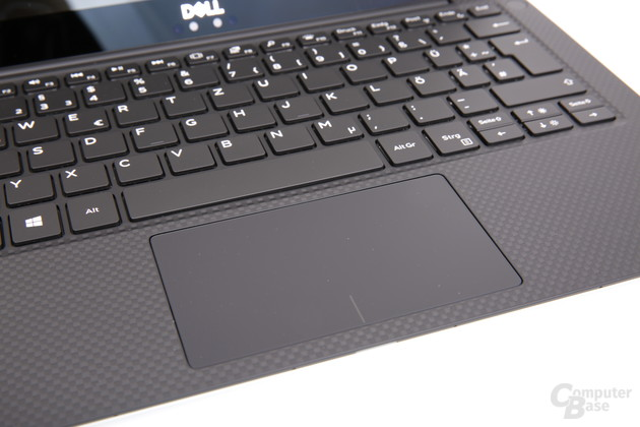 Das gleiche Touchpad wie noch im 9360
