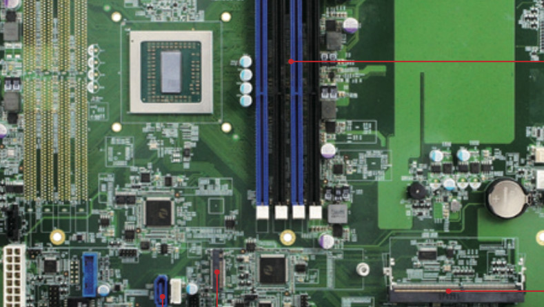 AMD Epyc Embedded: High-End-BGA-SoC auf erstem Mainboard gelistet