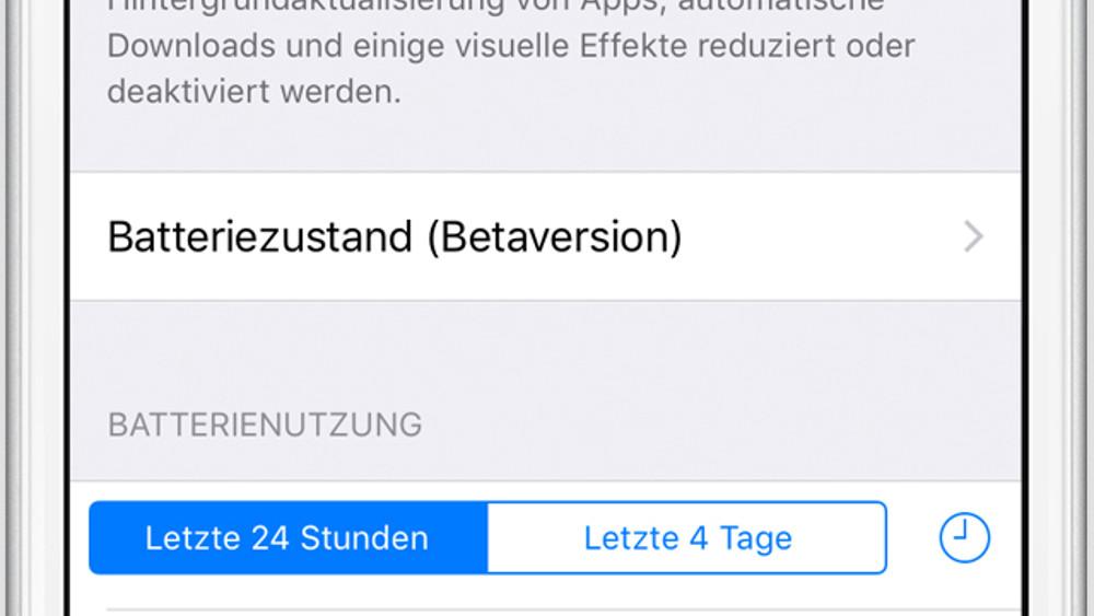 iOS 11.3 Beta 2: Apple erklärt Batteriezustand und Leistungsverwaltung