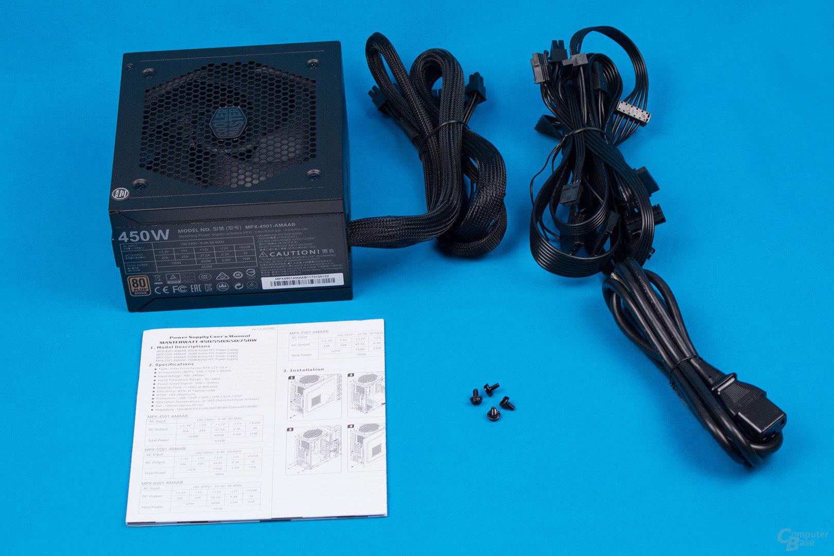 CoolerMaster MasterWatt 450W
