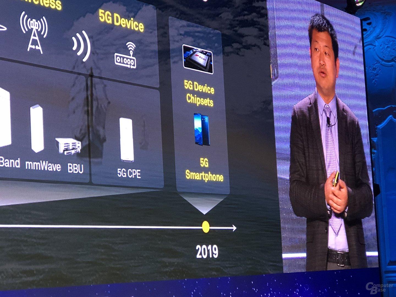 5G-Smartphone und SoC kommen 2019