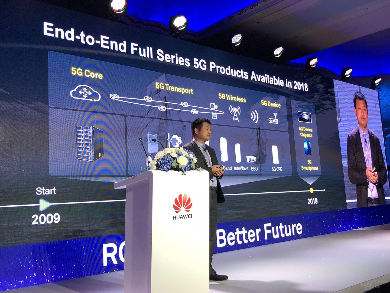 Dr. Peter Zhou gibt Ausblick auf 5G-Equpment