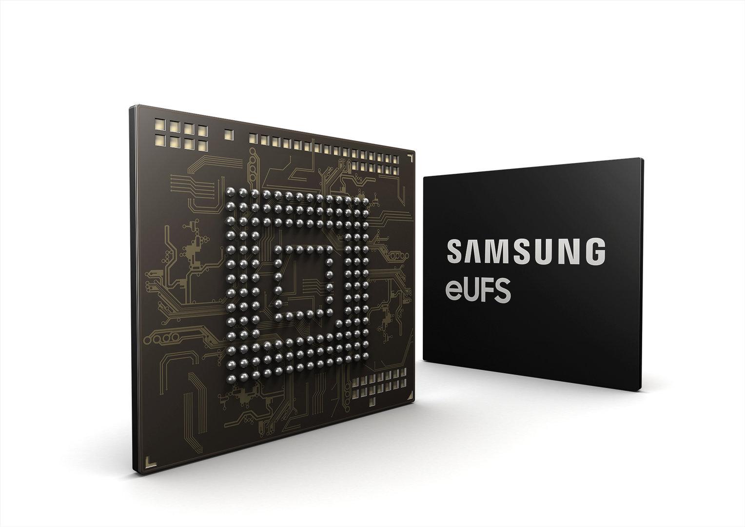 Samsungs 256 GB eUFS für Automobile