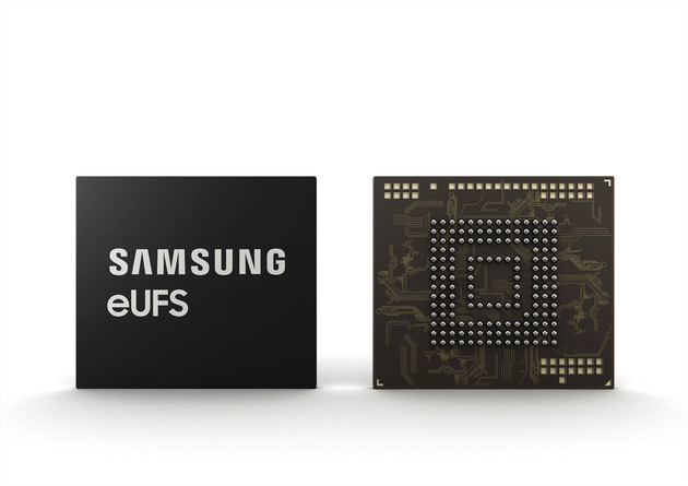 Samsungs 256 GB eUFS für Automobile