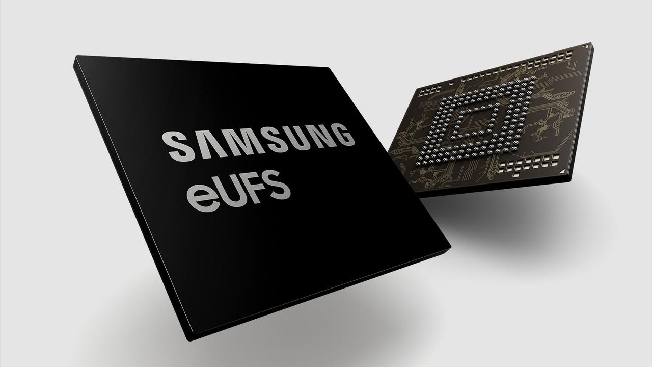Universal Flash Storage: Samsung fertigt 256 GB UFS für -40 bis +105 °C im Auto