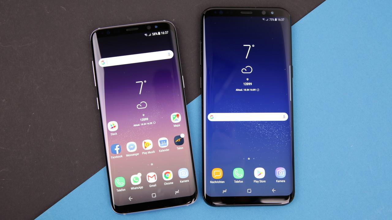 Galaxy S8(+): Samsung rollt Update auf Android 8.0 Oreo aus