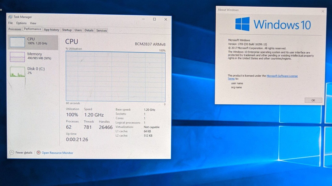 """Slow as hell"": Windows 10 on ARM läuft auf Raspberry Pi 3"