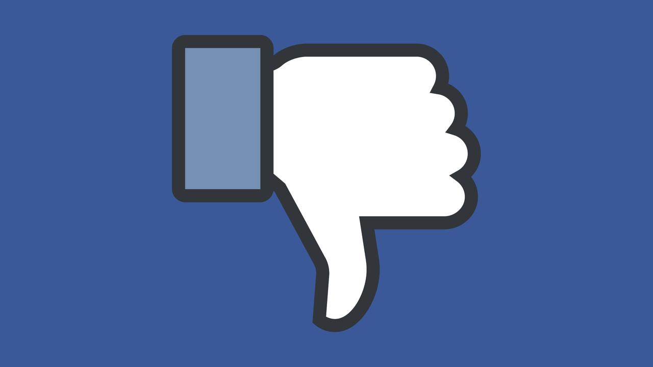 Soziales Netzwerk: Facebook testet Downvote-Button