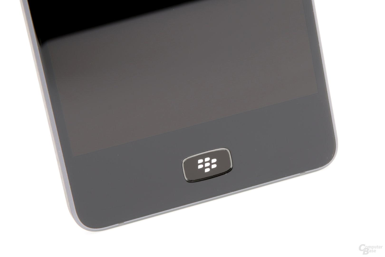 Die Home-Taste mit Fingerabdrucksensor