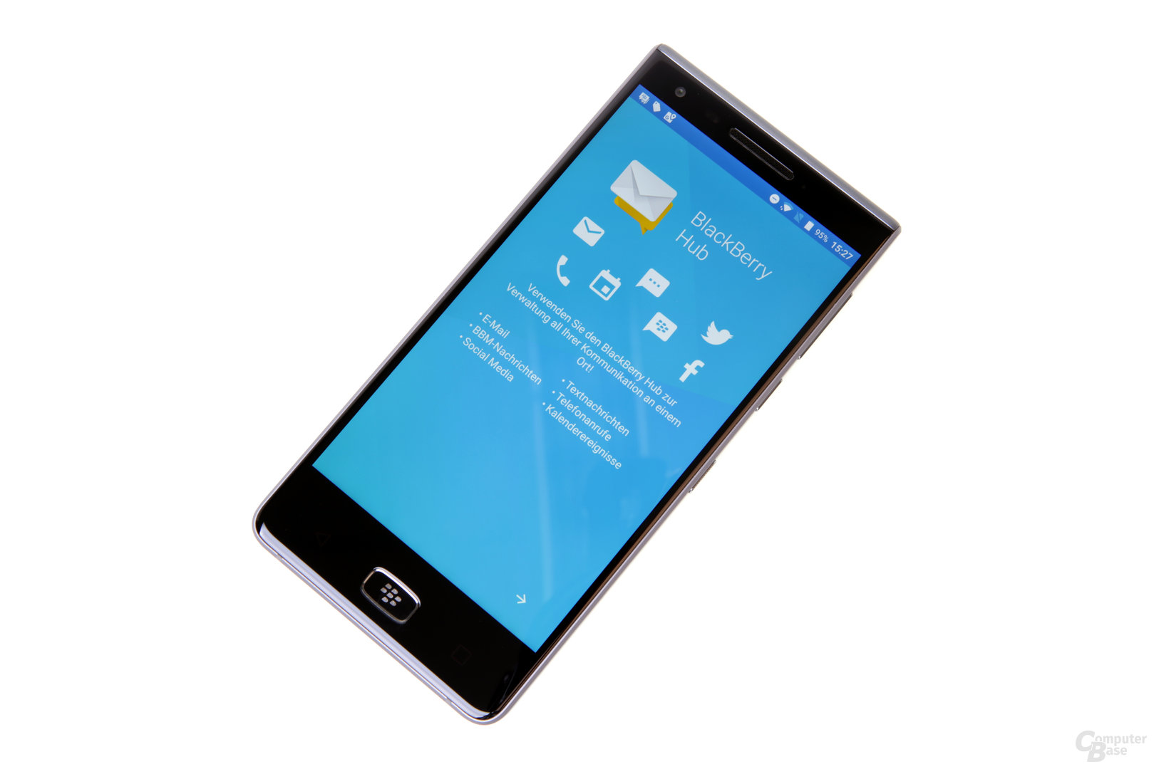Der BlackBerry Hub wertet Android enorm auf