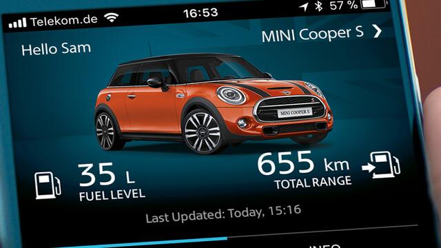 Mini Connected App im Detail